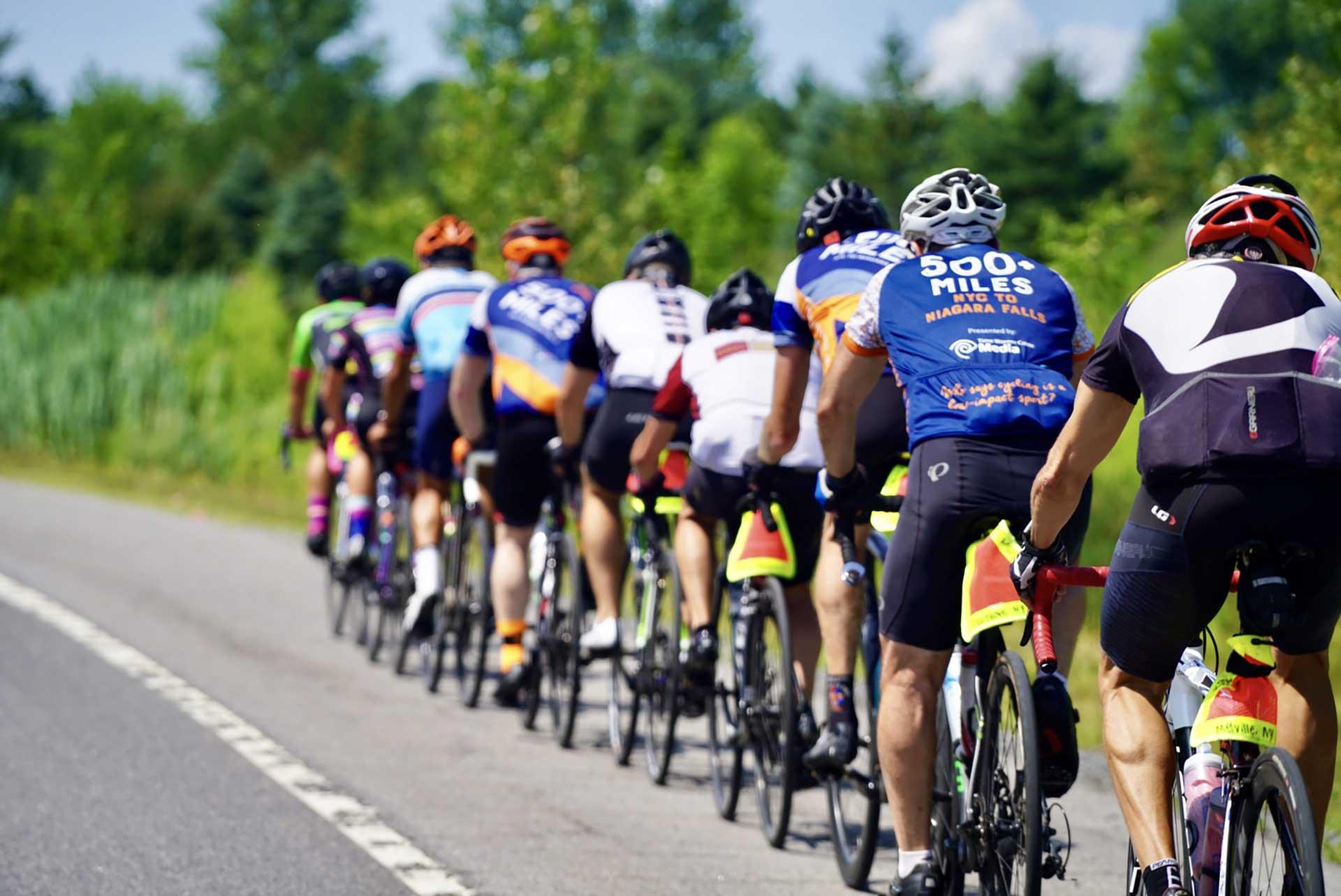 Charlie's tips for safe paceline riding