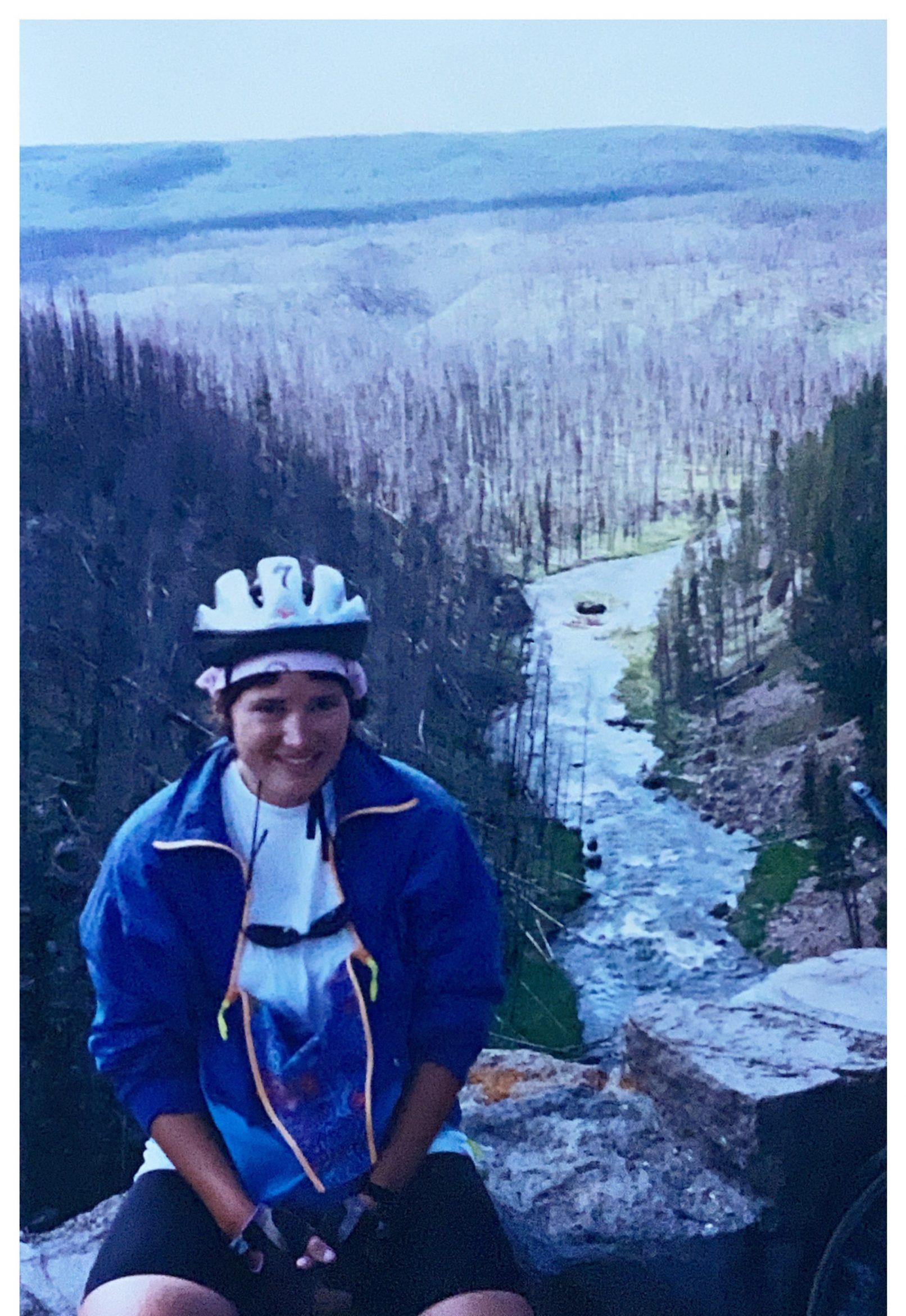 Julie Bike Pic